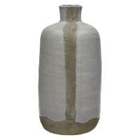 DIDIM-Vase-Céramique-Emaillé-Blanc-S- dia 11 x 24 cm