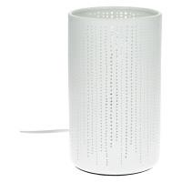 DOTS - lampe de table - porcelaine - DIA 12 x H 20 cm