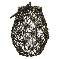 RIOSA - lanterne - fibre de banane - DIA 25 x H 45 cm