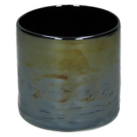 LORCA - glas - DIA 10 x H 10 cm - blauw