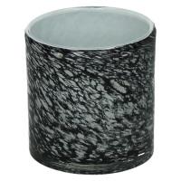 LORCA - t/light - glas - DIA 10 x H 10 cm - grijs