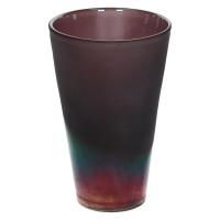 IRIAN-Vaze-Glas-Purper-S- dia 12.5 x 19.5 cm
