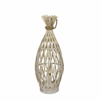 IRENE - lamp - bamboo / rope - DIA 20 x H 53 cm - natural