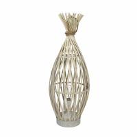 IRENE - lamp - bamboo / rope - DIA 24 x H 65 cm - natural