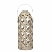 IRIS - lamp - bamboo - DIA 25,5 x H 65 cm - natural