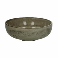 MIRHA - saladekom - aardewerk - DIA 16 x H 6 cm  - beige