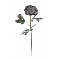 PEONY - pioen - kunststof - H 57 cm - multicolor