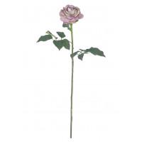 ROSE - roos - kunststof - H 73 cm - licht roze