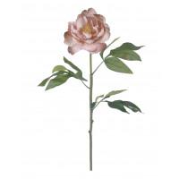 PEONY - pioen - kunststof - H 78 cm - licht roze