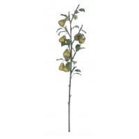 PEAR BRANCH - branche avec poir - synthétique - H 98 cm