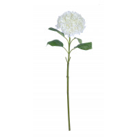 HYDRANGEA - hortensia - kunststof - H 85 cm - wit