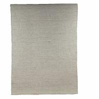 WEAVY - tapijt - wol / polyester - L 120 x W 180 cm - zilver