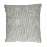 TOUDOU - coussin - coton / lurex - L 45 x W 45 cm - naturel