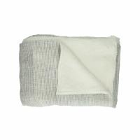 TOUDOU - plaid - katoen / lurex - L 130 x W 160 cm