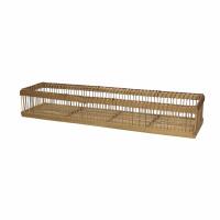 PRANA - dienblad - bamboe - L 50 x W 12 x H 8 cm - naturel