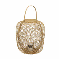 ZIGGY - lanterne - bambou - DIA 36 x H 40 cm - naturel