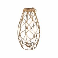GUGULETO - lanterne - rotin - DIA 30 x H 52 cm - naturel