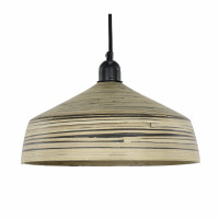 RIMBU - suspension - bambou - DIA 30 x H 14 cm - naturel