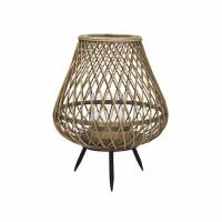 TAO - lantaarn - bamboe - DIA 26,5 x H 31,5 cm