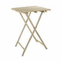 HAVANA - bar table - teak - L 70 x W 70 x H 105 cm - natural