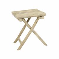 HAVANA - stool - teak - L 35 x W 35 x H 45 cm - natural