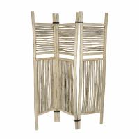 INSULA - room divider - teak - L 140 x W 10 x H 170 cm - natural