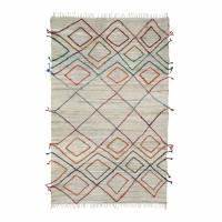 ACRES - tapis - coton - L 240 x W 140 cm - multicolore