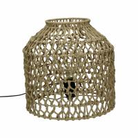 KNUPE - lampe de table - fer / papier - DIA 29 x H 28 cm - naturel