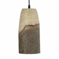 CABINE - hanglamp - paulownia hout - DIA 14 x H 29 cm - naturel