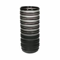 ALBATROS - vase - verre - DIA 12 x H 29 cm - noir