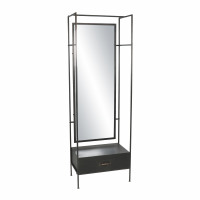 TYPOGRAPHIC - commode - metal - L 59 x W 38 x H 175 cm