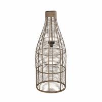 STRIPA - vloerlamp - bamboe - DIA 35 x H 89 cm ( led 2x1,5 volt )