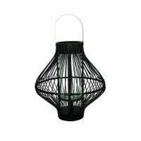 TULA - lanterne - bambou / métal - DIA 39 x H 43 cm