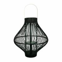 TULA - lanterne - bambou / métal - DIA 45 x H 50 cm