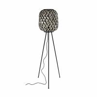 SIEBRA - floor lamp - bamboo / metal - DIA 35 x H 140 cm