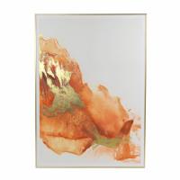IPANEMA - tableau - lin - L102 x W 4 x H 142 cm - orange