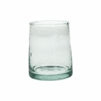 MIRA - verre d'eau - verre - L 6,3 x W 6,3 x H 9 cm - transparent