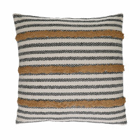 NOMAD - coussin - coton - L 45 x W 45 cm - curcuma