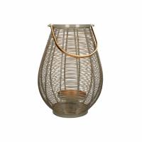 LYKT - lanterne - métal / métal - DIA 29 x H 41 cm - taupe