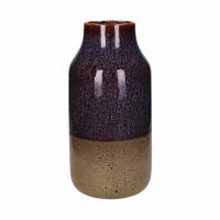 CAYUN - vase - céramique - DIA 17 x H 35 cm - brun