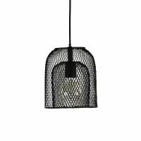 KABU - hanglamp - ijzer - DIA 19 x H 22 cm - zwart