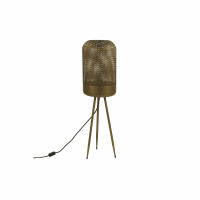 DETA - vloerlamp - zink - DIA 22 x H 75 cm - goud