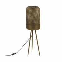 DETA - vloerlamp - zink - DIA 25,3 x H 94 cm - goud