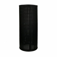 SHADOW - floor lamp - bamboo - DIA 25 x H 60 cm - black