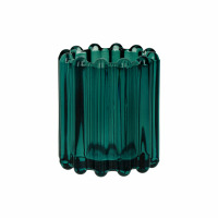 BROOKLYN CANET - t/light - verre / métal - DIA 6 x H 7 cm - teal