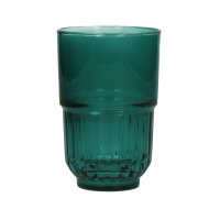 PANAMA - long drink  - glas - DIA 8 x H 12,5 cm - teal