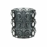 PASTILLA - T/light - verre - DIA 9,5 x H 10,5 cm - gris