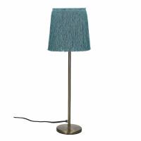 FROU' - lamp - iron / cotton - DIA 14 x H 47 cm - aqua