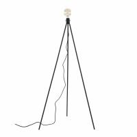 STACKLE - vloerlamp voet 3 levels - metaal - L 24/47/65 x W 24/47/65 x H 48/86/125 cm - zwart