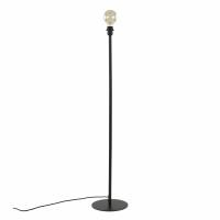 LAVAZ - floor lamp base - metal - DIA 25 x H 122 cm - black